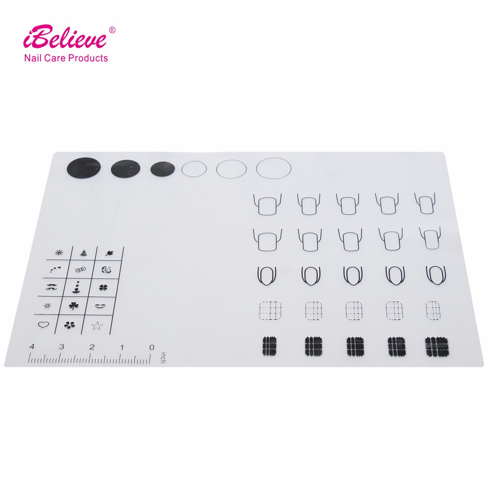 washable Nail Art Manicure Silicon Mat