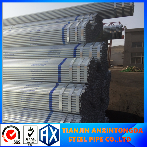 good quality galvanized pipe!dn250 galvanized steel pipe