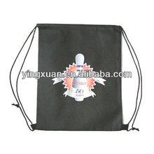 draw cinch string sports promotional non woven bags