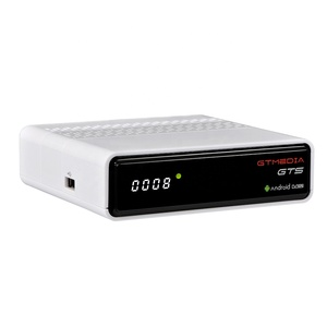 2019 New arrival GTMEDIA GTS Amlogic S905D DVB-S2 satellite receiver with Online movies Netflix
