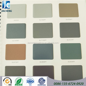 brown sand texture rough finish polyester powder coating for aluminium profile