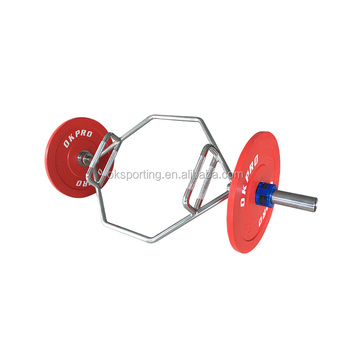 Weightlifting Barbell Trap Bar Weight Lifting Hex