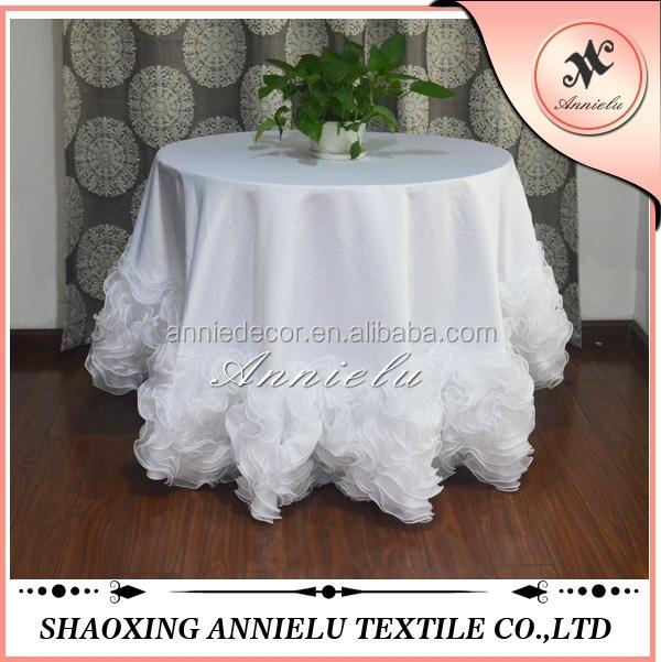 Fancy Organza Ruffled Cake Wedding Table Cloth   Buy Table Cloth,Wedding Table  Cloth,Organza Ruffled Cake Wedding Table Cloth Product On Alibaba.com