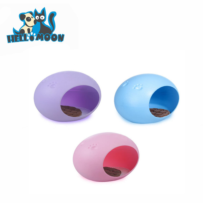 Ovale ABS Materiale Acrilico Trasparente Cat Egg Cuccia Letto Per Eco Canile Pet Products Dog Cat House