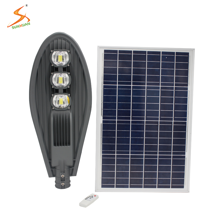 Factory New Design High Lumens 150w integrated led solar street <strong>light</strong>