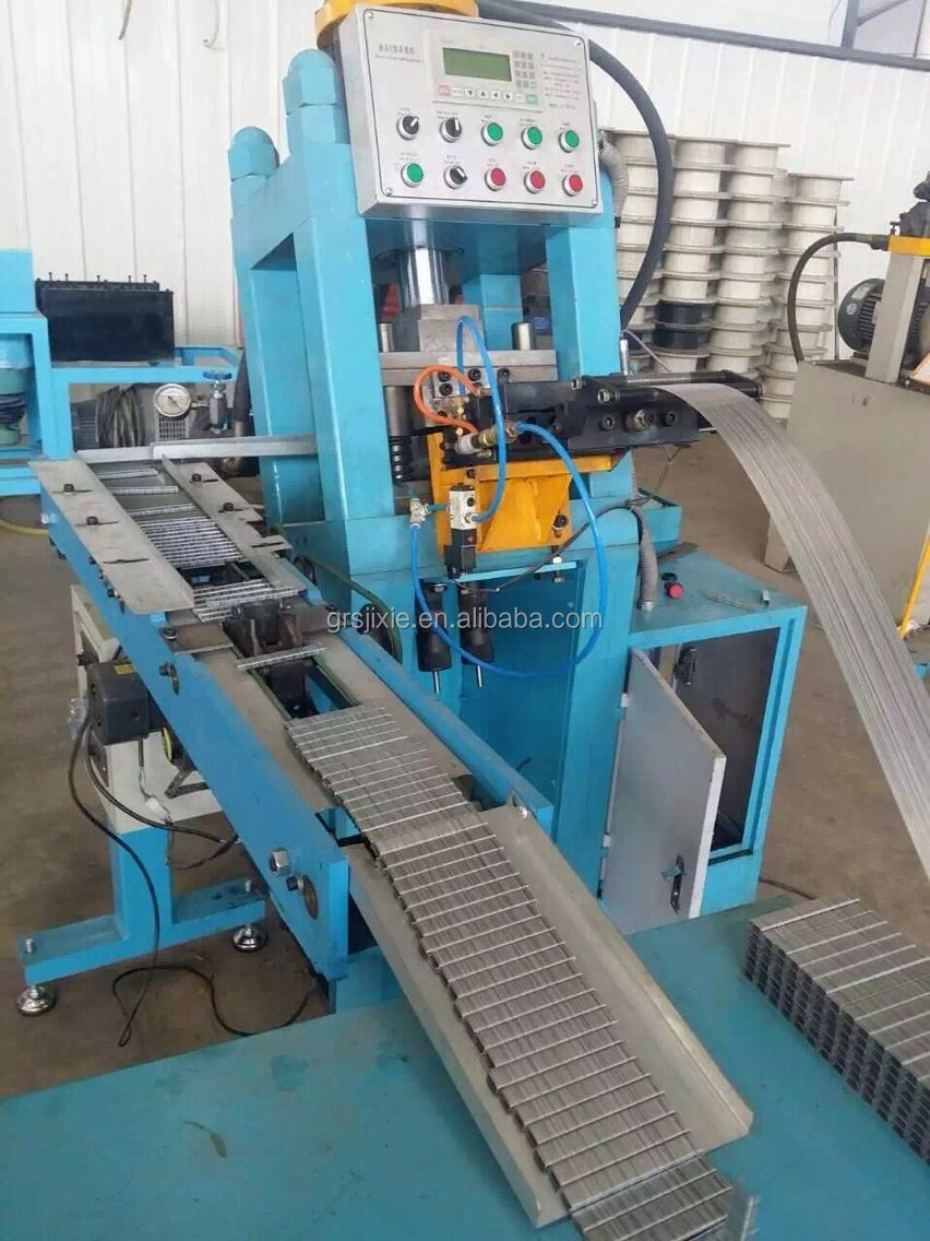 Staple Full Production Line Wire Flattening Machine/wire Band Making ...