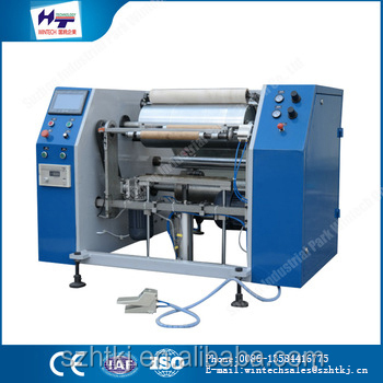 Hot selling custom Plastic Packaging Machines automatic pre stretch film rewinders