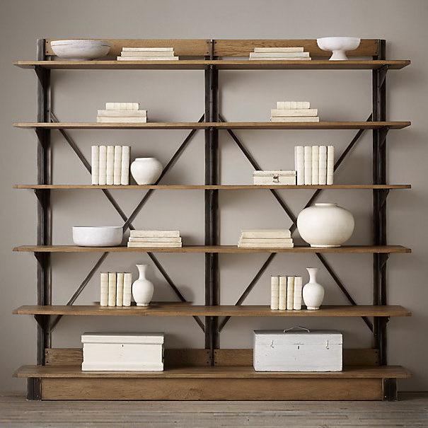 American country style pine bookcase shelf bookcase shelf