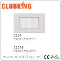 Wholesale switch power supply 4 gang 1/2 way electrical pressure switch