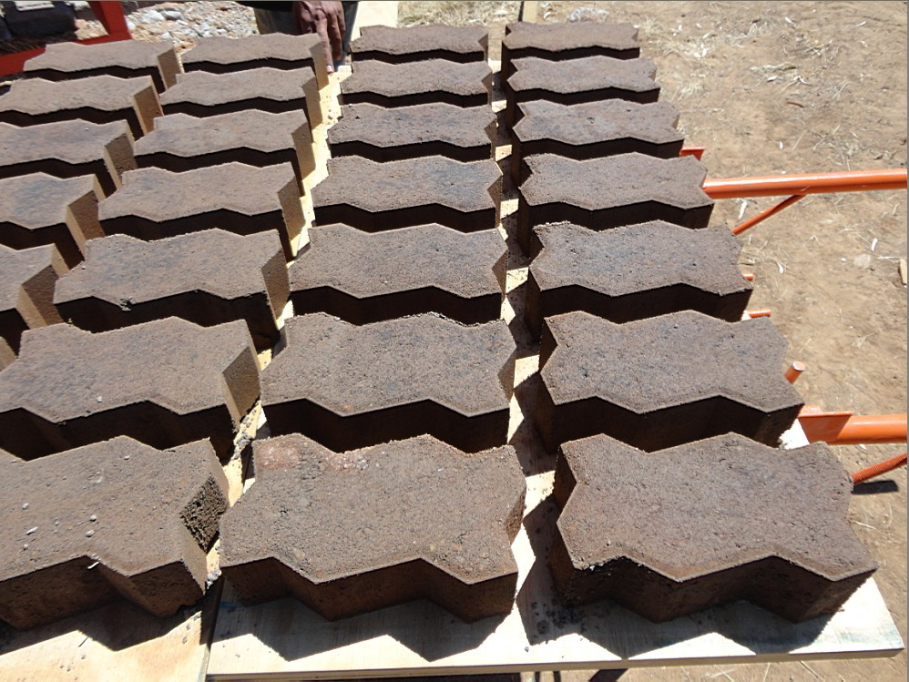Concrete Cabro Interlocking Paver Brick Block Making