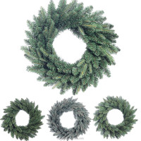 Wholesale high quality PE PVC tips christmas home decoration garlands items