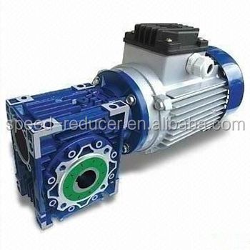Worm gearmotor gearbox hollow shaft nmrv series drive for for Worm gear drive motor