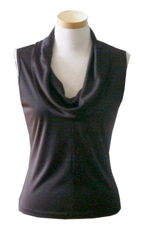 Ladies Cowl Neck Sleeveless Top