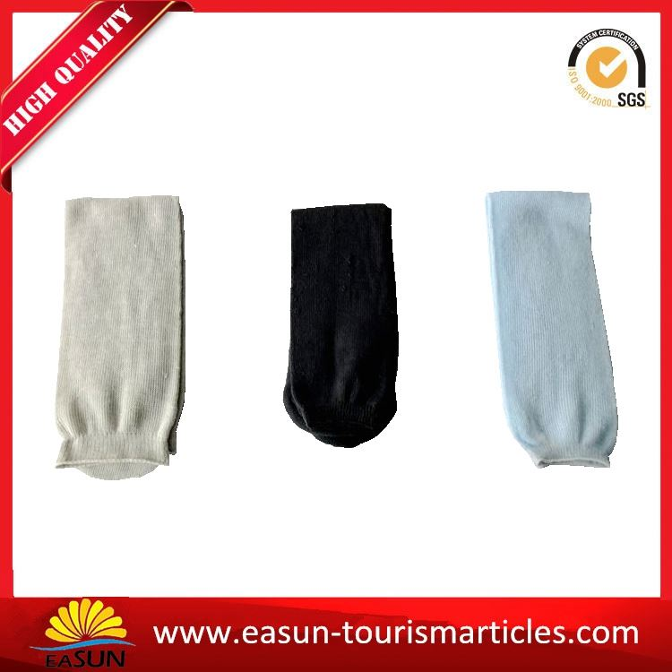 travel disposable in-flight non skid wholesale socks