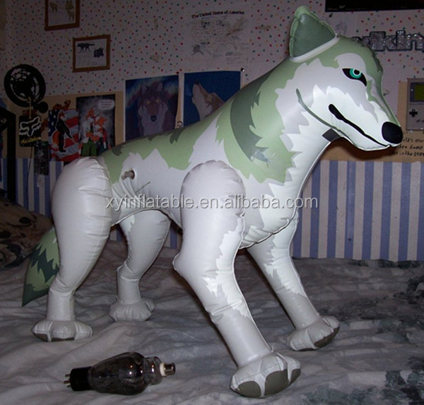 silverwolf custom giant inflatable wolf for sale