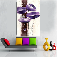 Wholesale Cheap China Canvas Flower Oil Painting Art/Abstract Home Wall Decor Painting