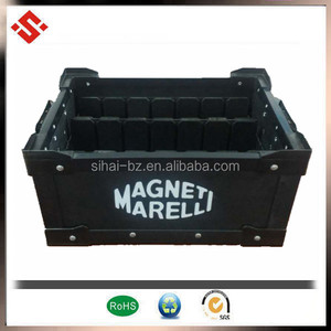 custom print Folding boxes corrugated plastic sheet box recycling box