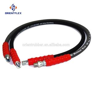 Reliable flexible heat resistant hot water conveying synthetic rubber solution hose assembly manufacturers