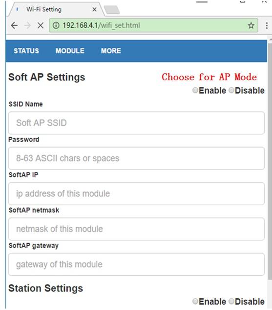 Oficial DOIT DT-06 inalámbrico WiFi módulo de transmisión de puerto serie TTL a WiFi ESP8285 con interfaz Bluetooth HC-06 ESP8266