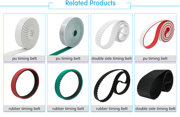 Rubber Timing Belt for auto equipment