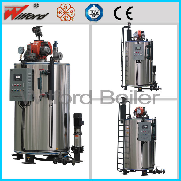Plastic Machinery Boiler Industrial Gas Fired Steam Boiler For Plastic