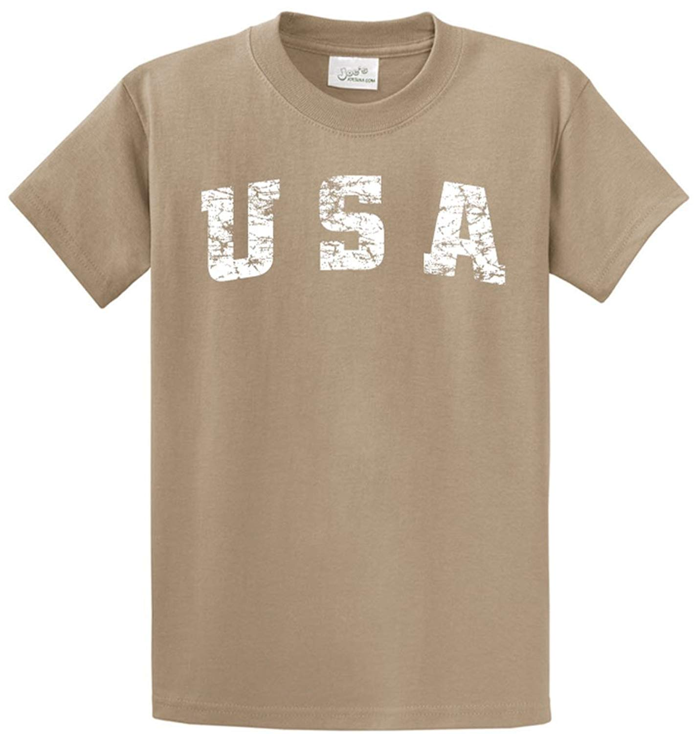 832211be104 Get Quotations · Joe s USA tm -Tall Vintage USA Logo Tee T-Shirts in Size  3X-
