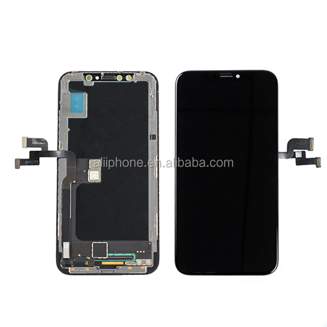 High brightness best OLCD for iPhone X lcd replacement