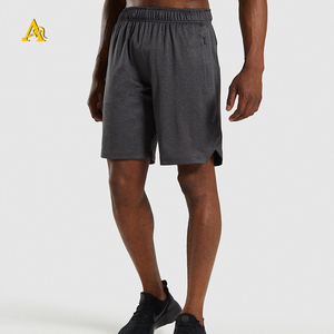Wholesale Custom Polyester Running Compression Short Pants Custom Mens Gym Shorts