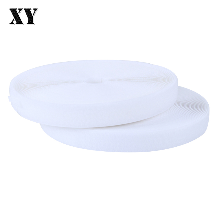 Customized 38mm balck/white hook and loop polyester for All kinds of military products