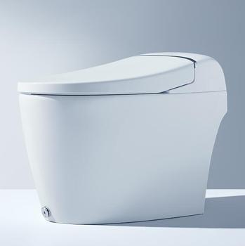 Cheap Price Smart Toilet Sets , Chinese Toilet Video, One piece Dual-Flush wc Toilet Tube