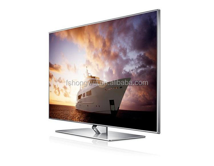 40 Inch Silver Color Led Tv 4k Ultra Hd Android Smart With Metal Frame