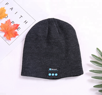 Funny winter hat music bluetooth beanie hat with headphone / Outdoor Sport Bluetooth Stereo Music Hat