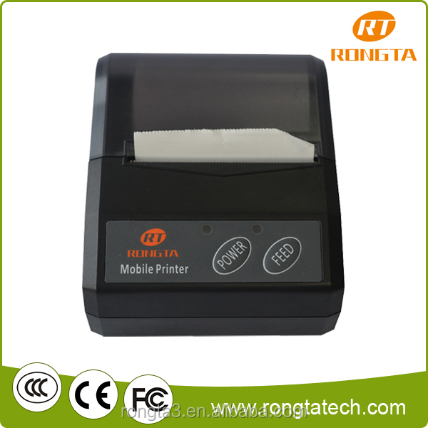 Mini Bluetooth pos thermal portable handheld printer RPP210 for Ticket system