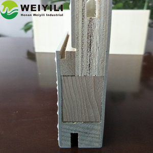 WPC Material F Type Door Frame Jamb Popular in Thailand Market