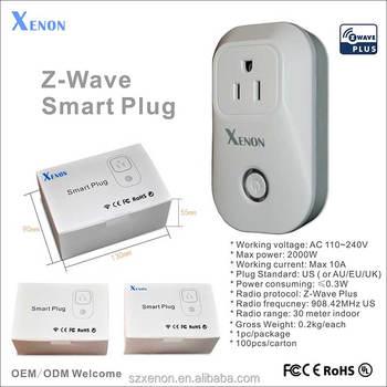 Xenon Z-wave App Control Voice Command Alexa Wifi Plug Socket 908.42 ...