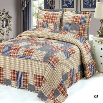 Traditional Cheap Bedding Sets Patchwork Bed Sheet Kuala Lumpur Malaysia