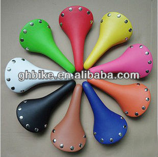 700C fixie bike saddle colorful saddle fixed gear bike sddle