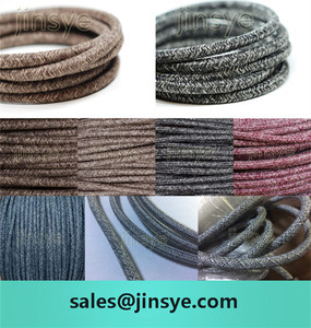 CE/VDE/SAA twisted / flat / round cable electric cotton covered wire electrical cable