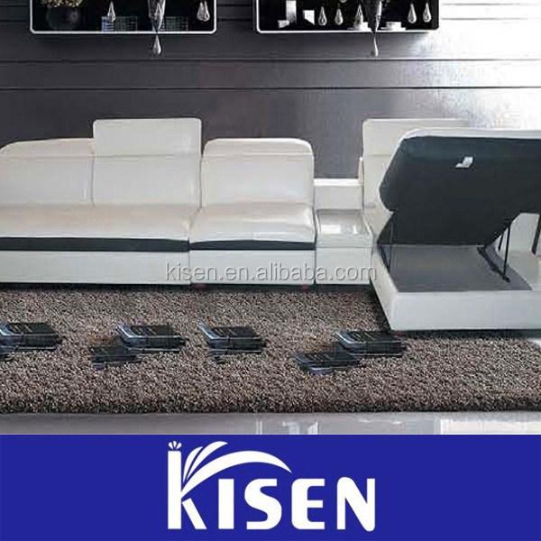 Muebles modernos living room sofa reclinable de cuero sofa vintage ...