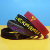 Cool Design Personalized Basketball Silicone Wristbands Elastic Multiple Colors Sports Baller Silicone Bracelets