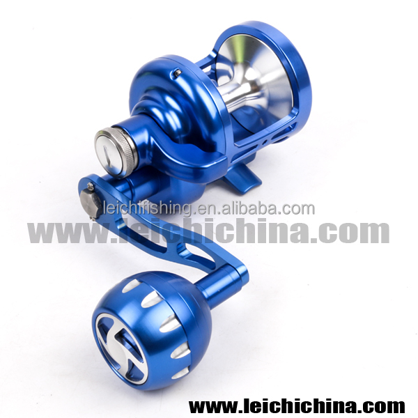 Machine cut Aluminum sea fishing slow jigging reel