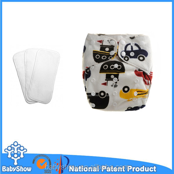 Wholesale washable printed pul AIO baby cloth diapers design baby cloth diapers in bales baby cloth diapers manufacturer