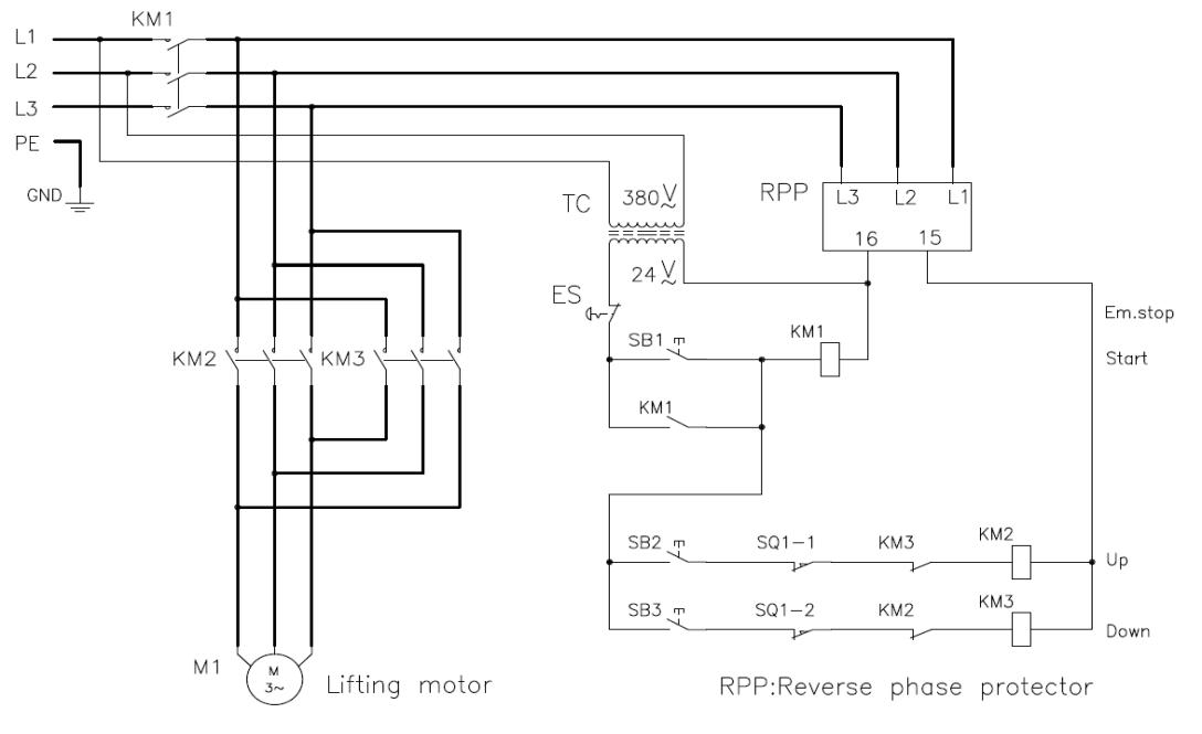 Remote Control Type 15 Ton Mini Electric Chain Hoist