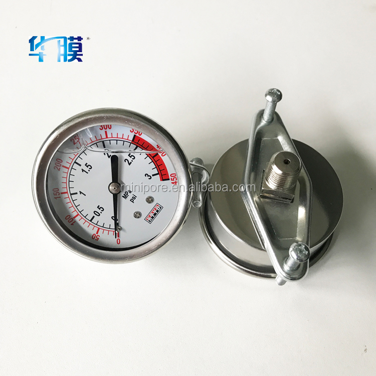 yuyao factory digital hydraulic pressure gauge for oil and gas