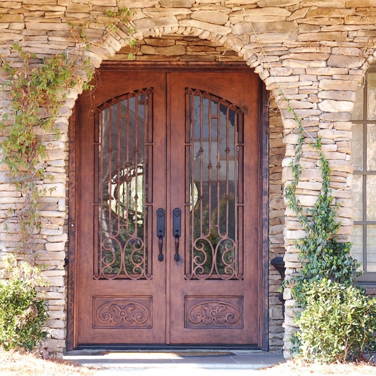 High Quality Exterior Doors Jefferson Door: High Quality Flat Exterior Wrought Iron Entry Door With