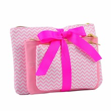Best 잘 팔리는 <span class=keywords><strong>3</strong></span> 개 zig zag 파 cosmetic bag set, make up bag <span class=keywords><strong>화장품</strong></span>