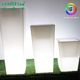 Garden decoration furniture RGBW light up Color Changing 55cm 70cm 96cm height Led Flower pot
