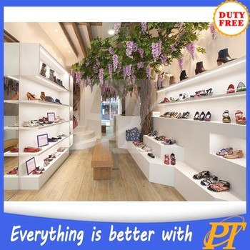 Commercial Shoe Display Design Shoes Rack Stand For