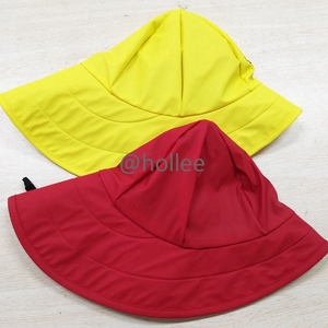 Adult/Kids Fleece Lined Waterproof Hat Sou'wester Rain Cap