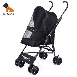 Popular foldable three wheels pet stroller/pet trolley